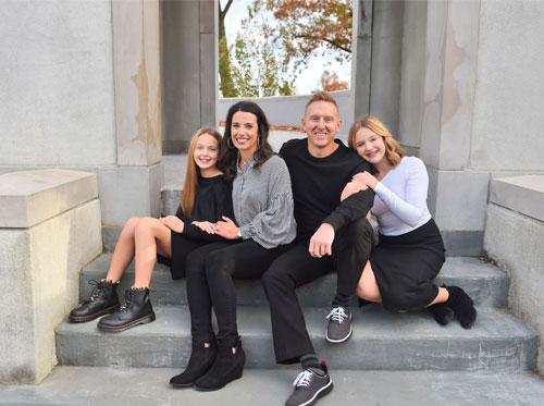 Realtor Melanie Gabel and Family